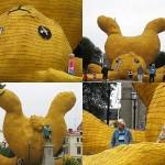 Гигантский желтый кролик