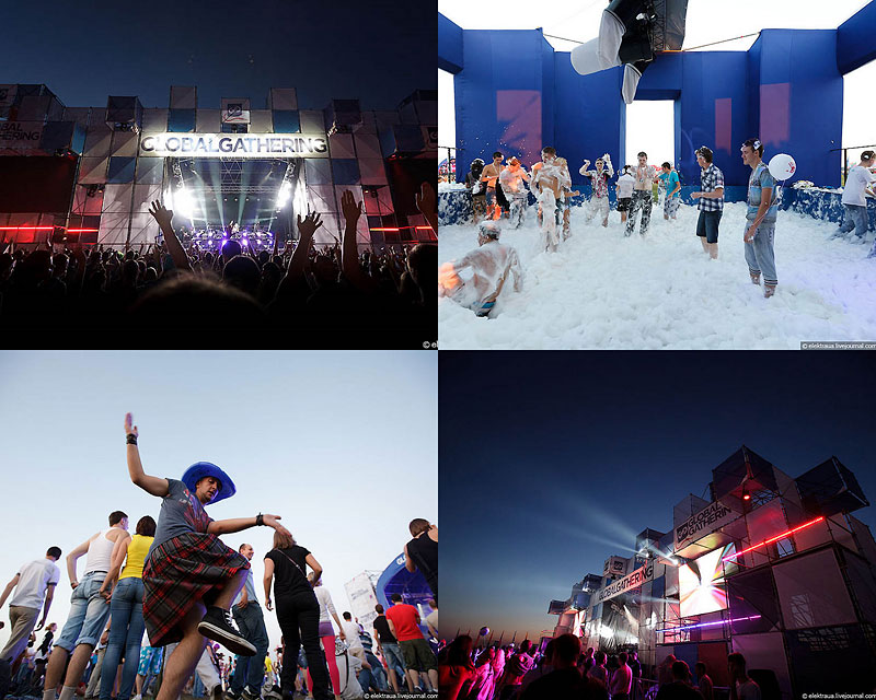 Open-Air фестиваль Global Gathering вКиеве