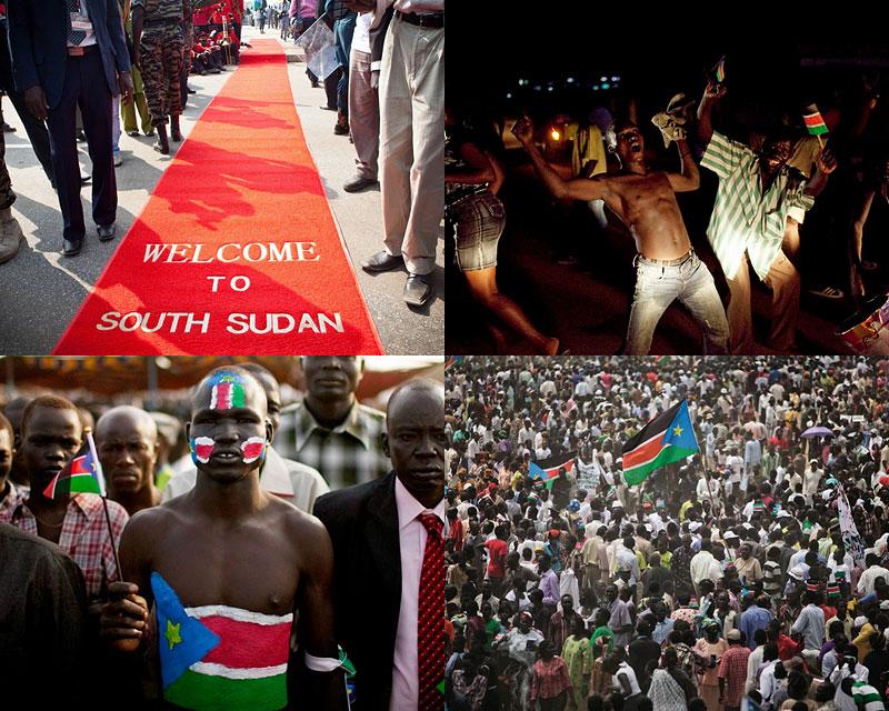Южный Судан — новое государство на картемира