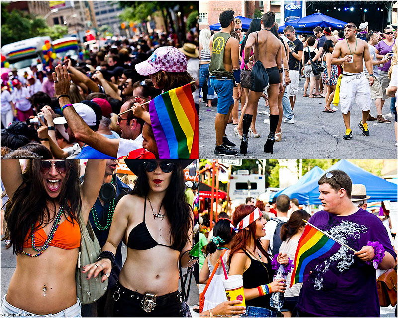 Гей-парад в Торонто