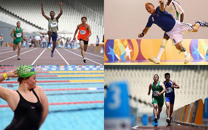 Олимпиада для лиц с умственными отклонениями: Special Olympics