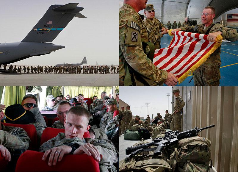 BIGPIC46 США начали вывод войск из Афганистана