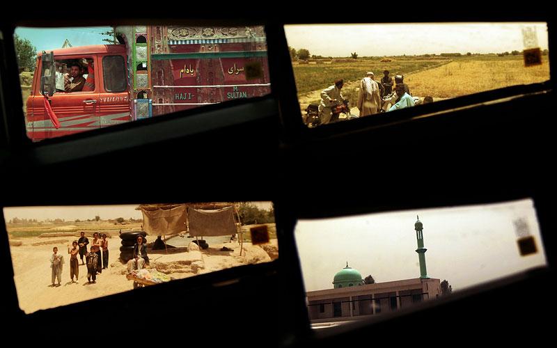 Взгляд на Кандагар с борта бронетранспортера M‑ATV