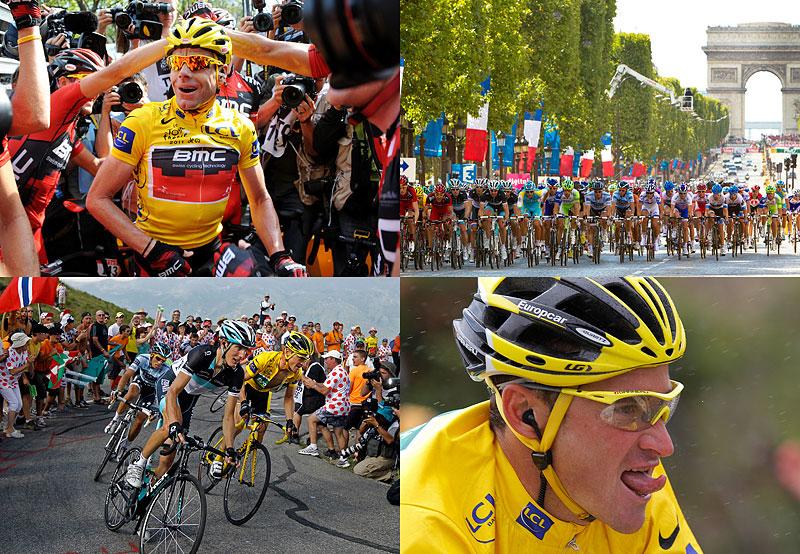 Финал велогонки Тур де Франс2011