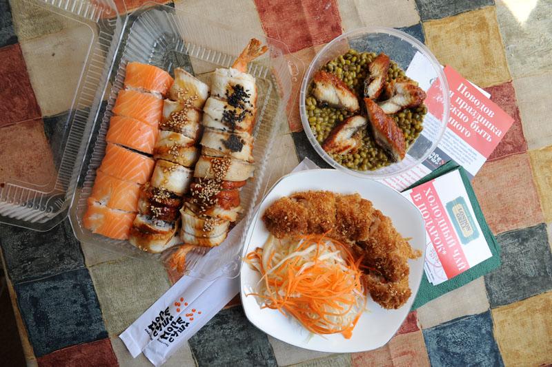 Вся правда о доставке готовой еды в Москве: МореСуши