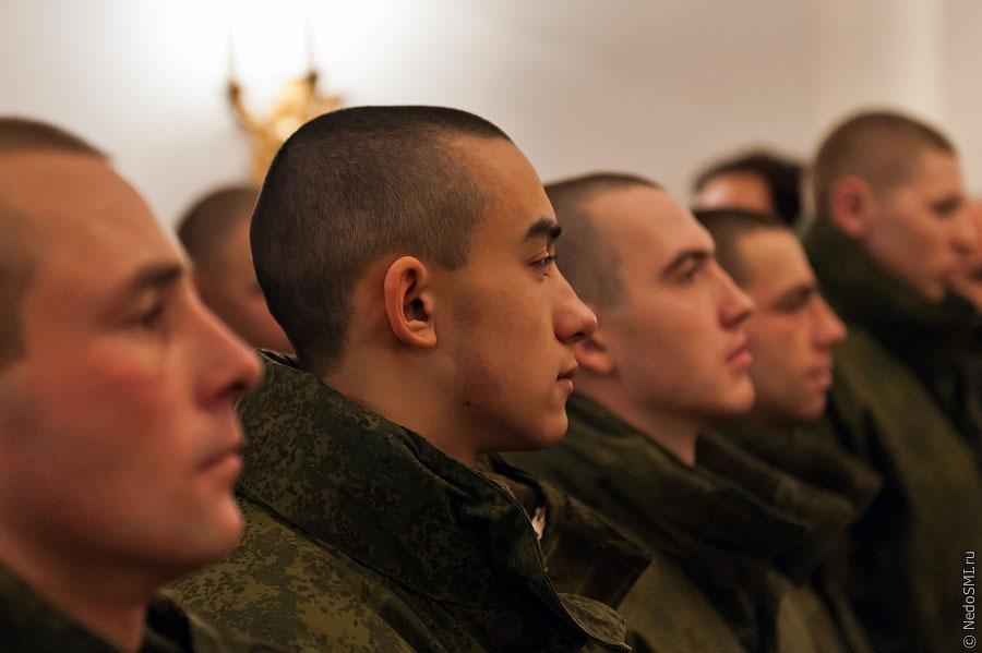 знакомство с военнослужащими воинской части 2011