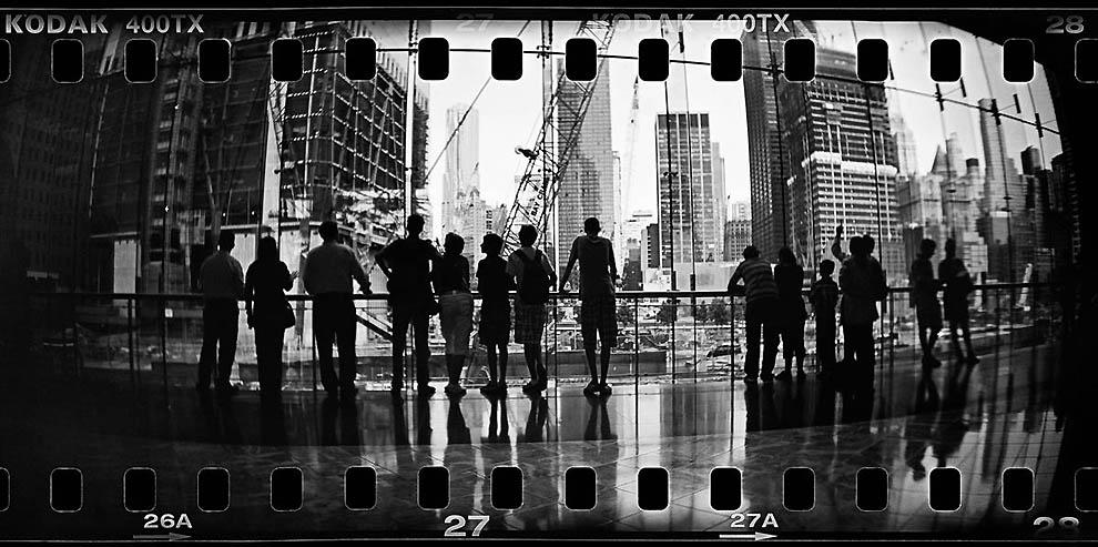 Преобразившийся Манхэттен на пленке
