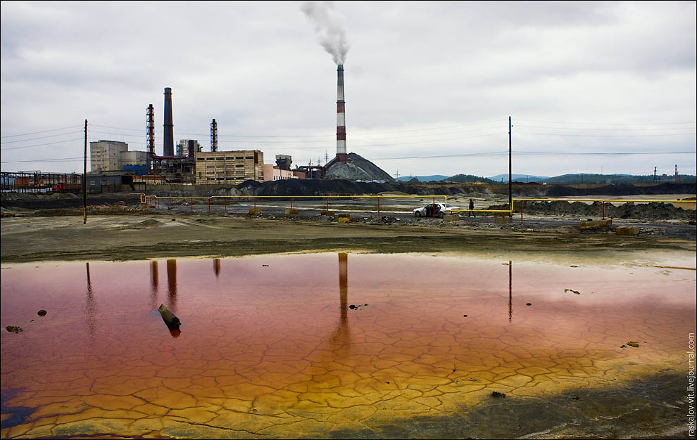 11124 Карабаш — самый грязный город планеты