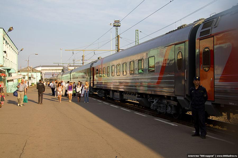1182 Нанопоезд РЖД в Вологде