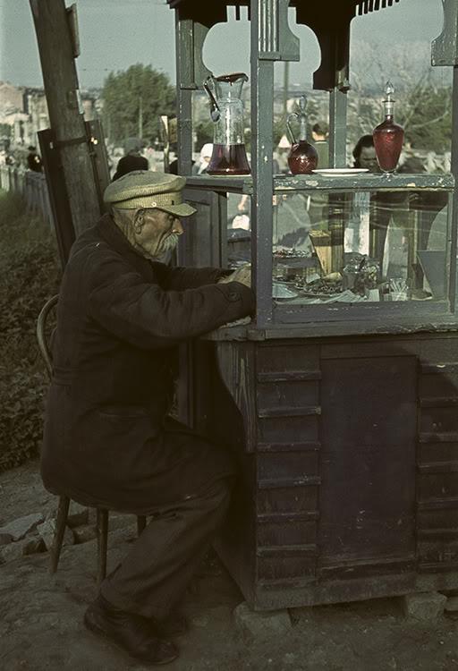 13000000 Харьков времен немецкой оккупации в цвете