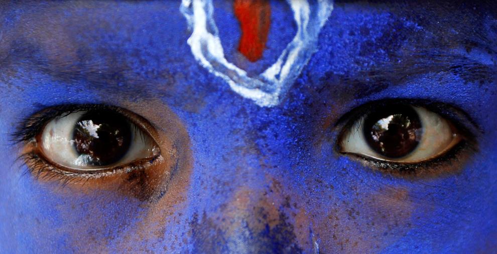 1406 Индийский фестиваль Кришна джанмаштами