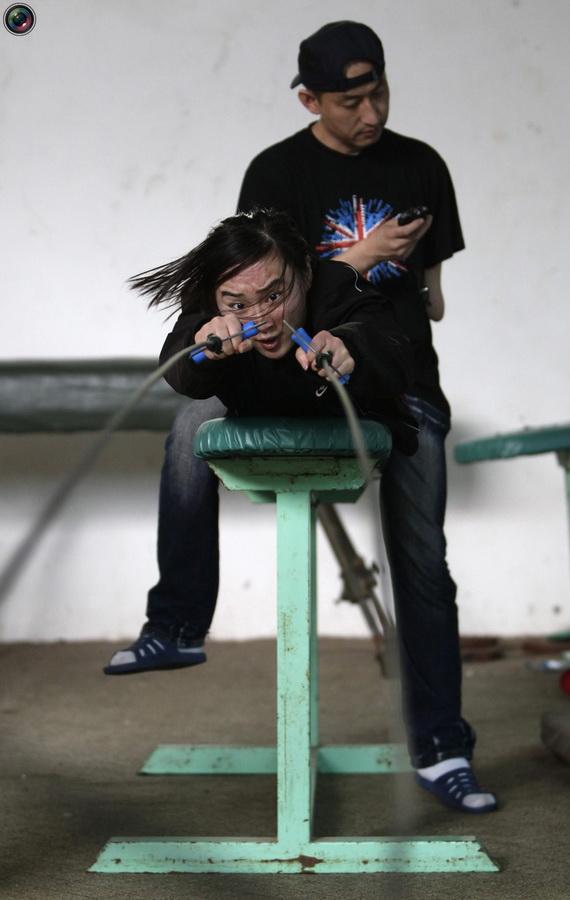 Тренировки паралимпийцев