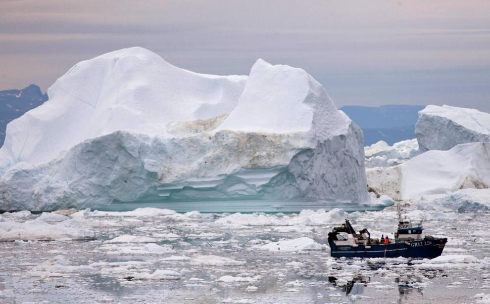 1495 990x615 Ледяная Гренландия...или уже не ледяная?