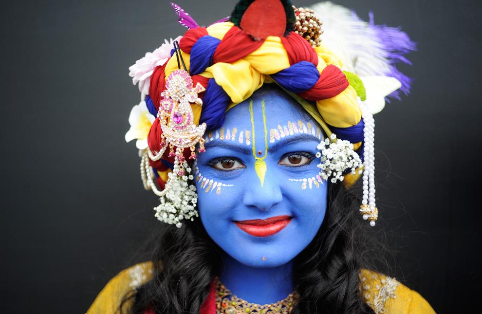 1690 Индийский фестиваль Кришна джанмаштами