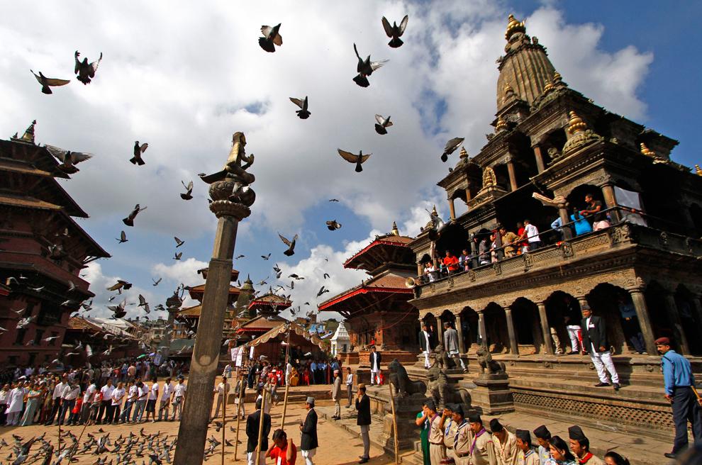 1786 Индийский фестиваль Кришна джанмаштами