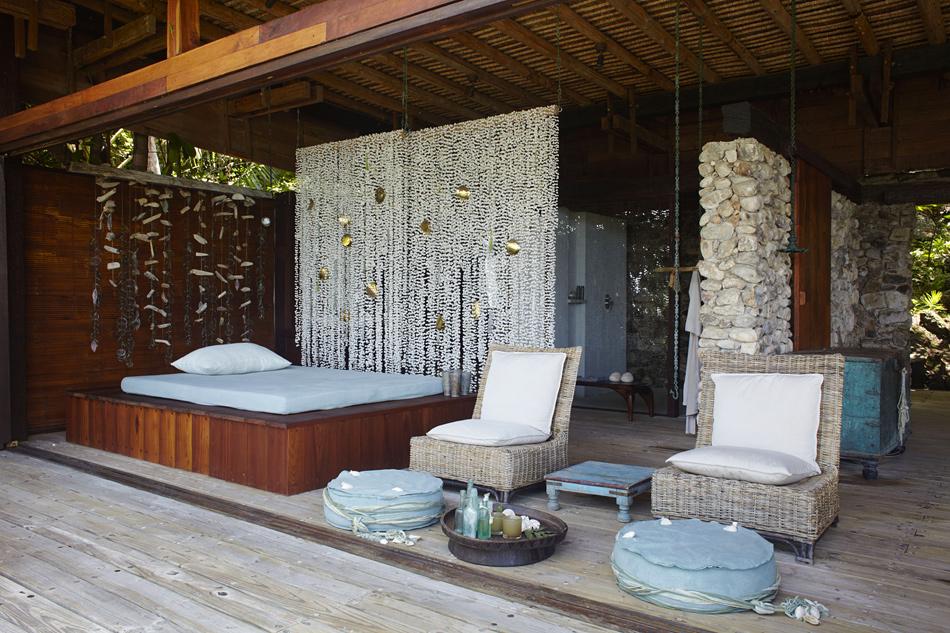La propiedad privada de la Isla Norte en las islas Seychelles