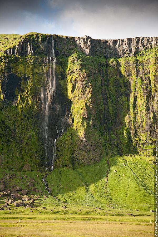 Исландия. Солнце и океан