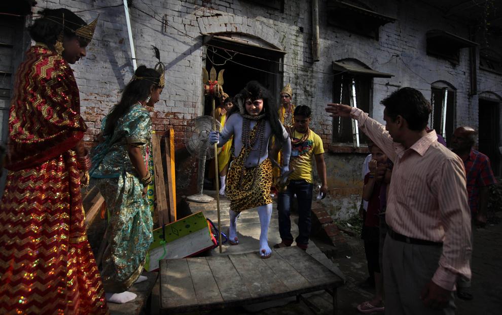 1981 Индийский фестиваль Кришна джанмаштами