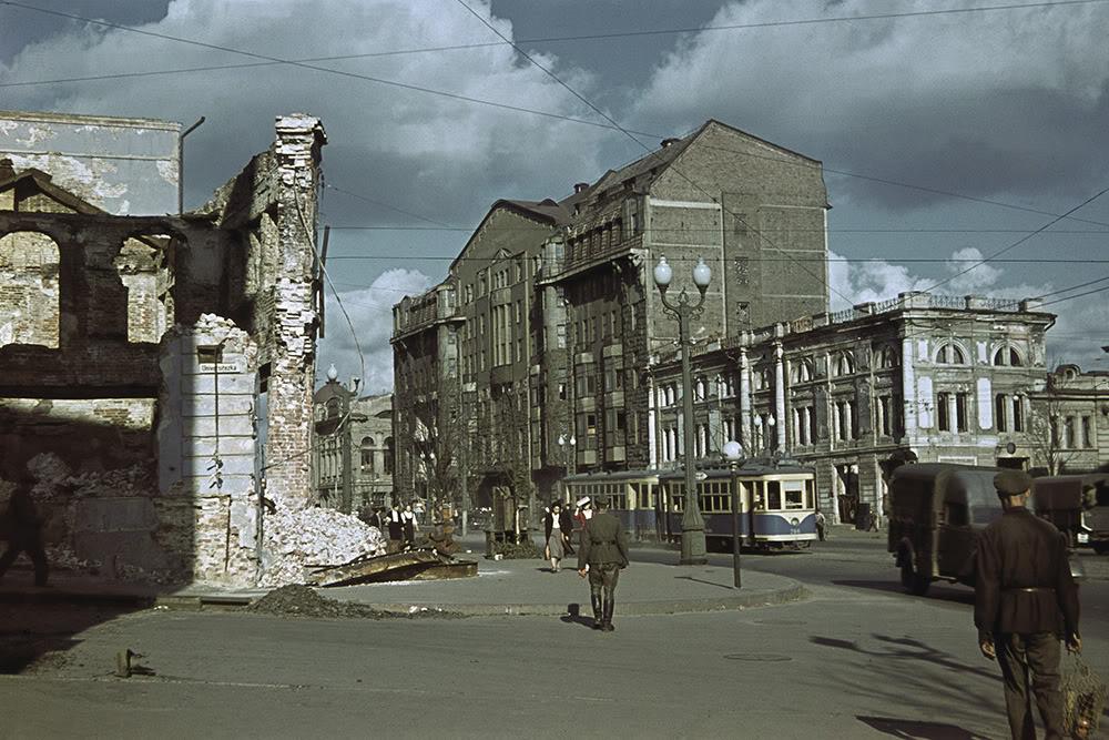 20000000 Харьков времен немецкой оккупации в цвете
