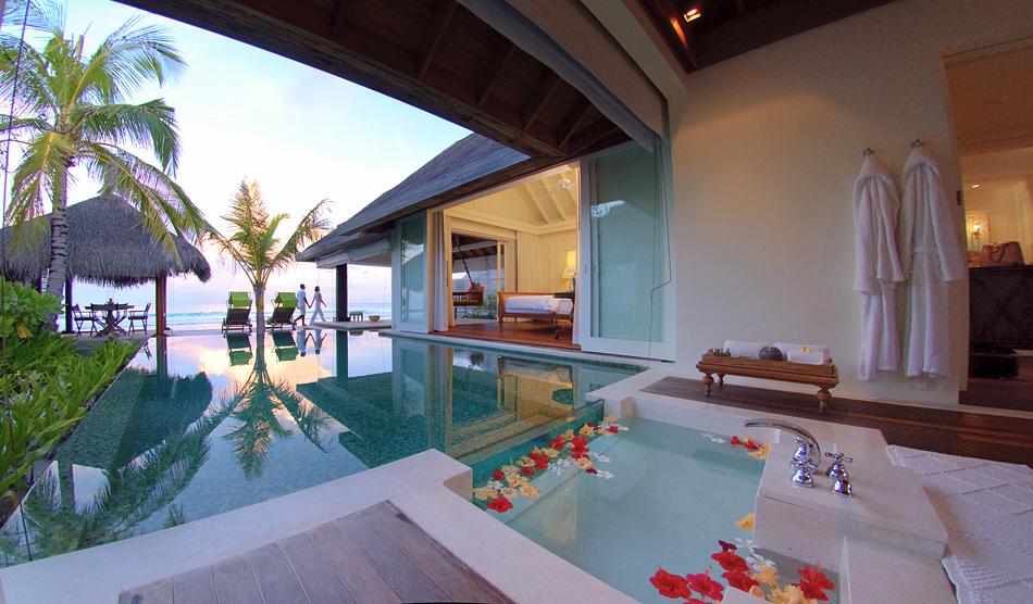 Роскошные отели на Мальдивах