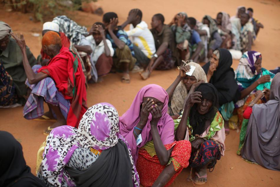 Голод в Восточной Африке продолжается
