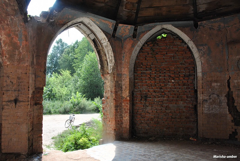 Усадьба графа Храповицкого Муромцево