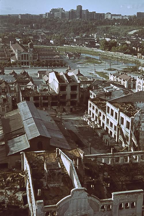 22000000 Харьков времен немецкой оккупации в цвете