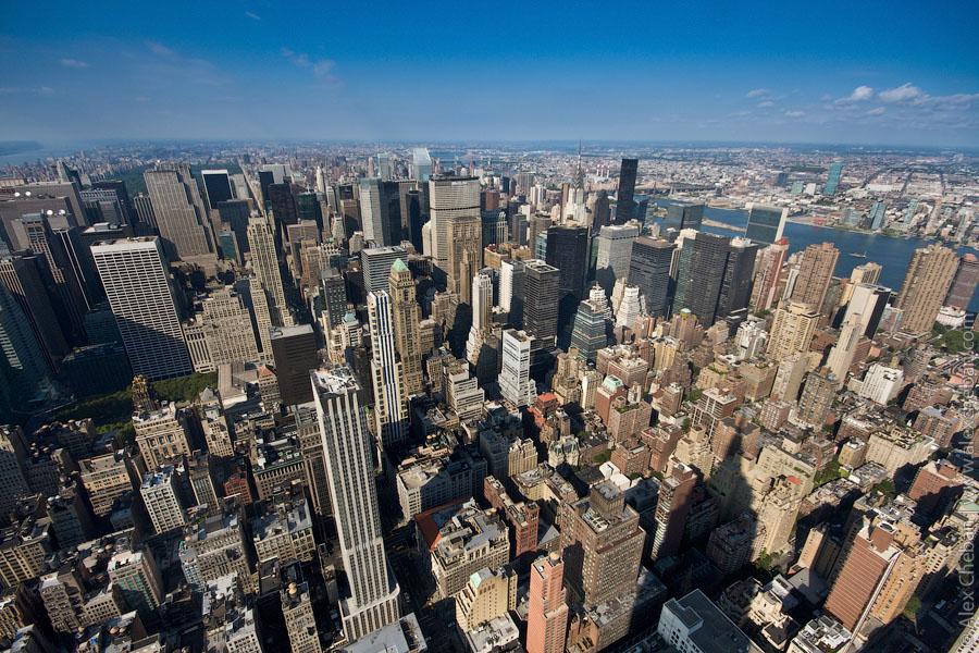 2222 нью йорк с самого высокого здания в