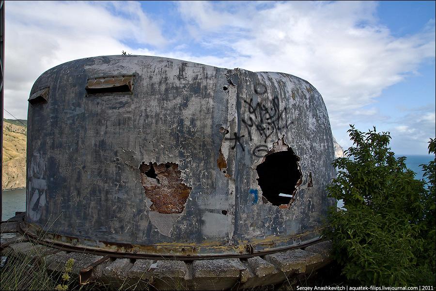 Заброшенная 19-я орудийная батарея