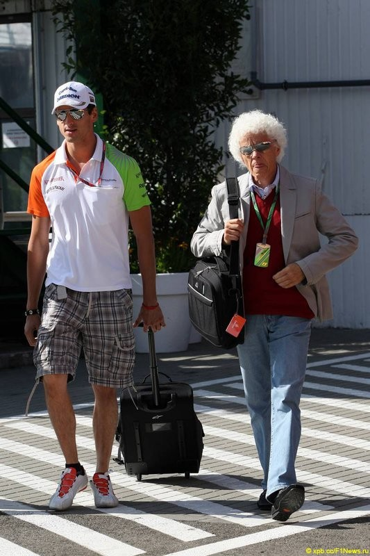 За кадром Гран-при Венгрии 2011