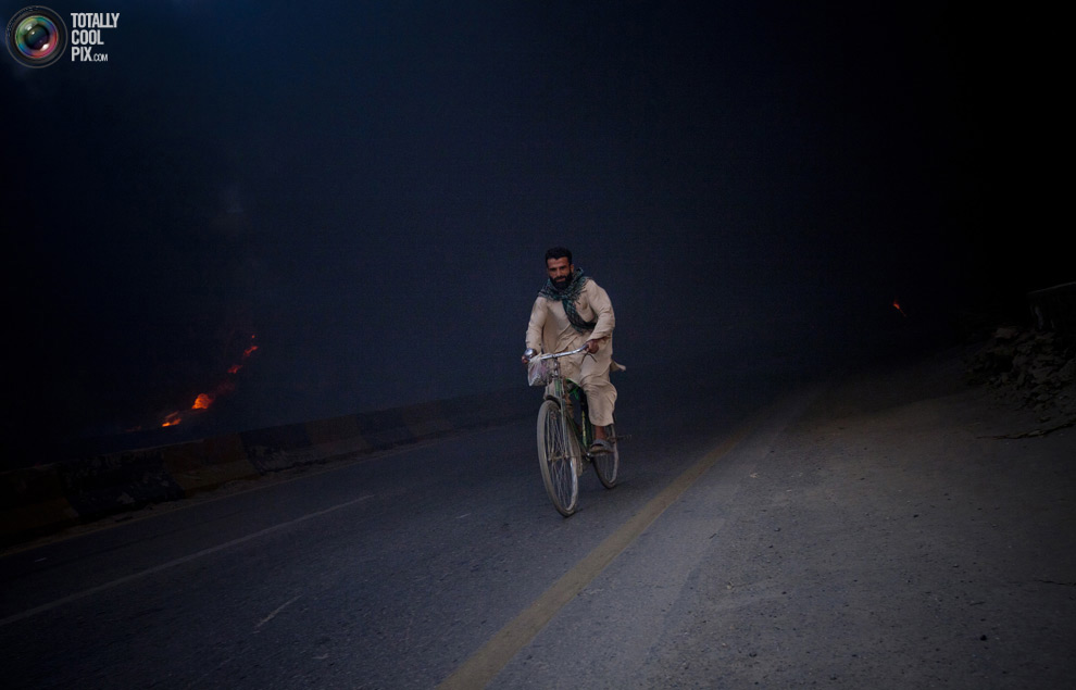 Нападения на бензовозы НАТО в Пакистане