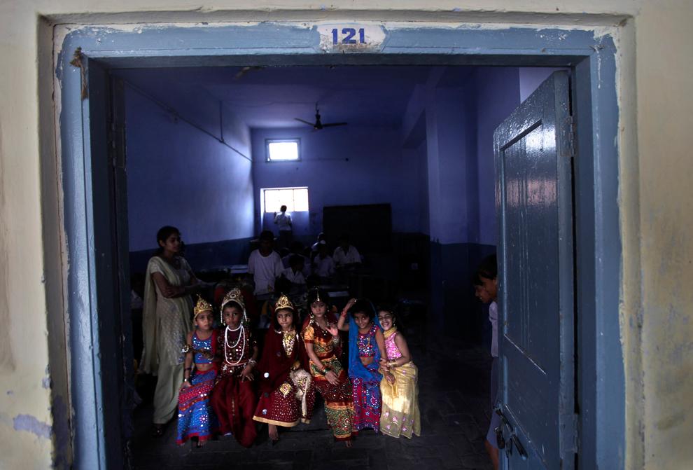 2562 Индийский фестиваль Кришна джанмаштами