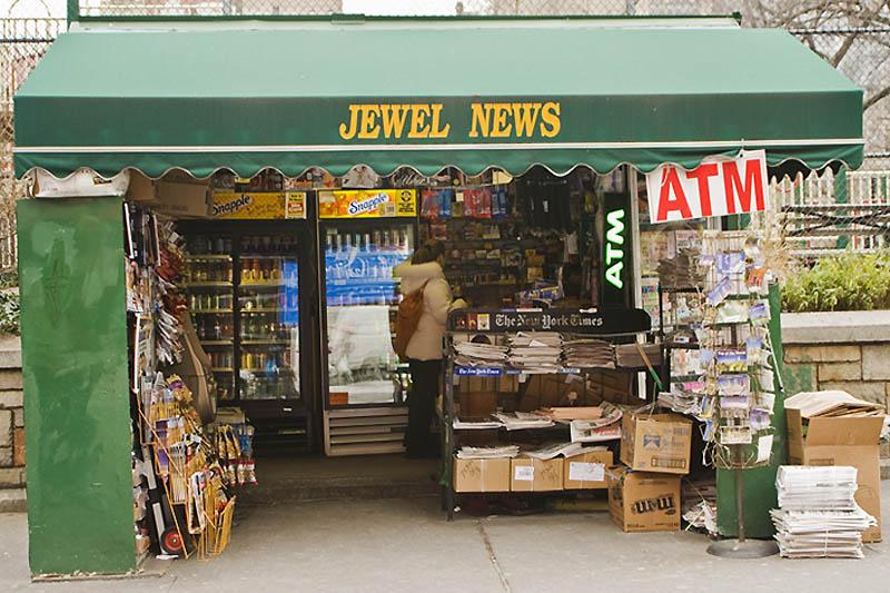 Уличная торговля Нью-Йорка