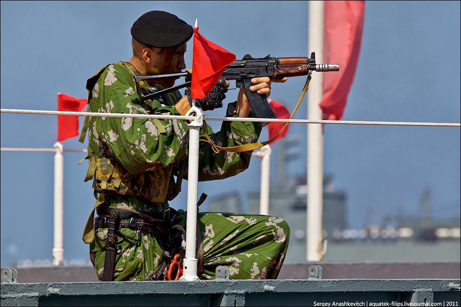 Празднование Дня ВМФ России в Севастополе
