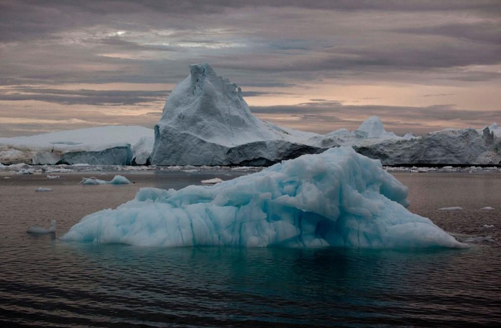 Ледяная Гренландия…или уже не ледяная?