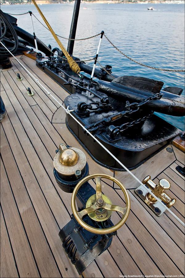 Экскурсия на парусник ВМС Италии Amerigo Vespucci