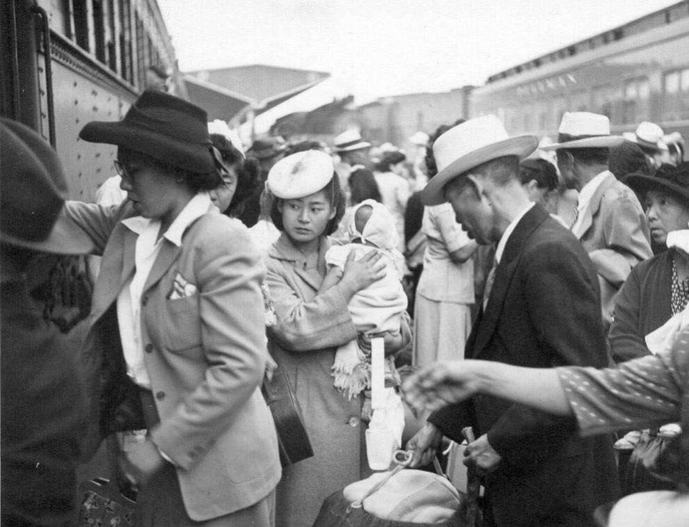 Вторая мировая (часть 10) - японцы в америке