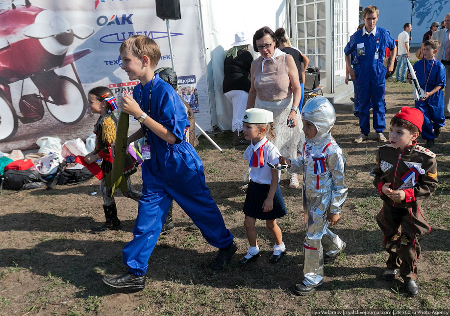 МАКС 2011, Путин