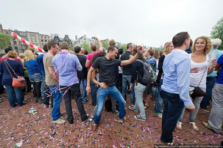 Теперь все вместе, Амстердамский гей-парад 2011