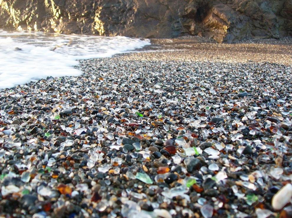 Стеклянный пляж, Форт Брэгг, Калифорния, США