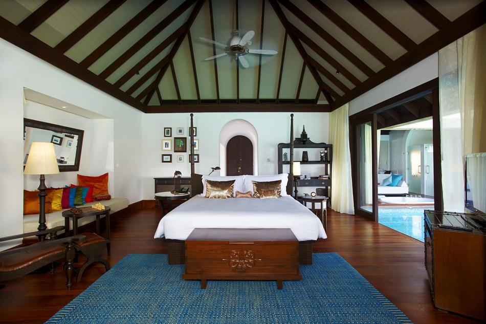 83 Anantara Kihavah Villas – роскошный отель на Мальдивах
