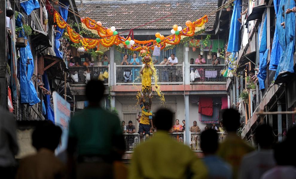 9103 Индийский фестиваль Кришна джанмаштами