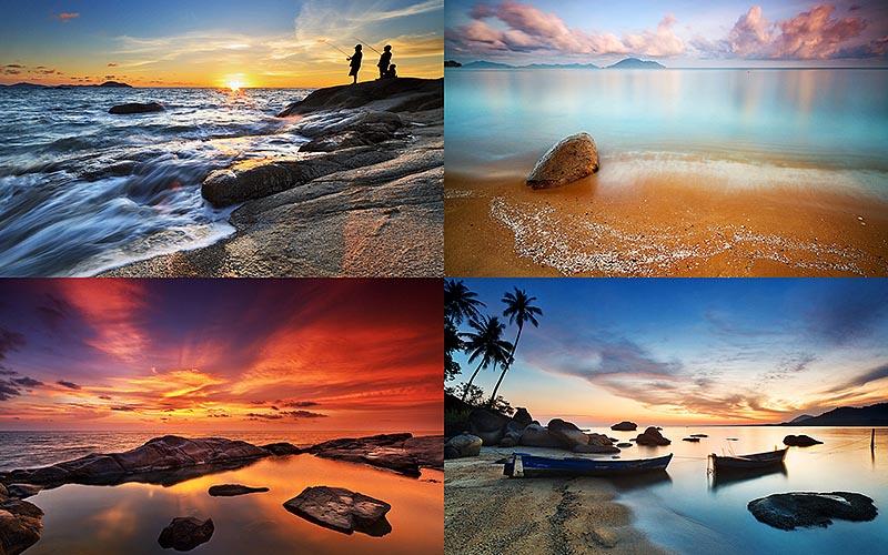 Завораживающие пейзажи индонезийского фотографа БоббиБонга