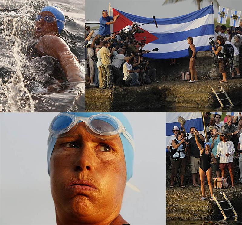 61-летняя пловчиха намерена переплыть пролив между Кубой иСША