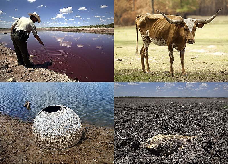 Страшная засуха в Техасе: фанатики ждут концасвета