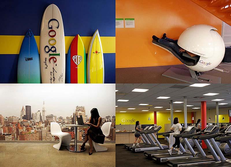 Офис мечты: Работа в компании Google