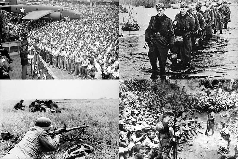 Вторая мировая война: Смелые рейды и жестокие расправы (Часть 9)