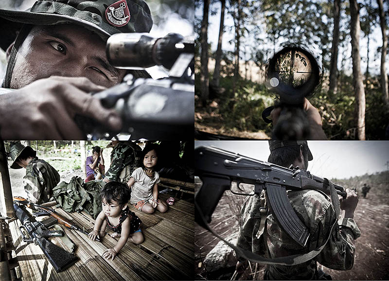 BIGPIC59 Tentara Pembebasan Nasional Karen