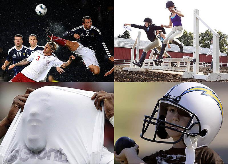 Спортивные фото: горечь поражений и радость победы