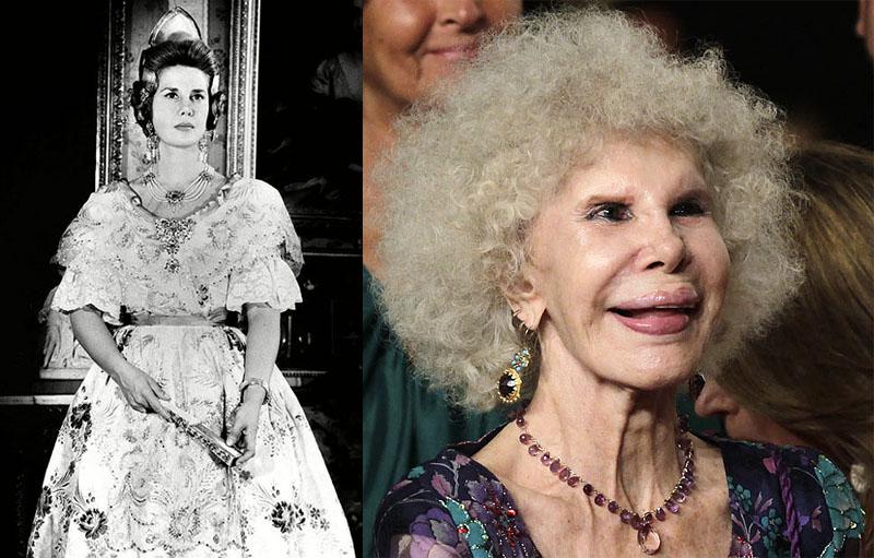 BIGPIC78 85 летняя Герцогиня Альба снова выходит замуж